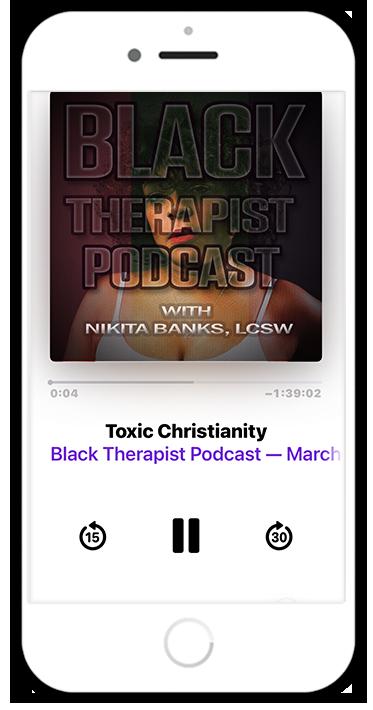black therapist podcast on itunes